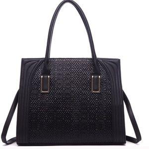 Handbags - Gorgeous Weave Detail Shoulder Purse
